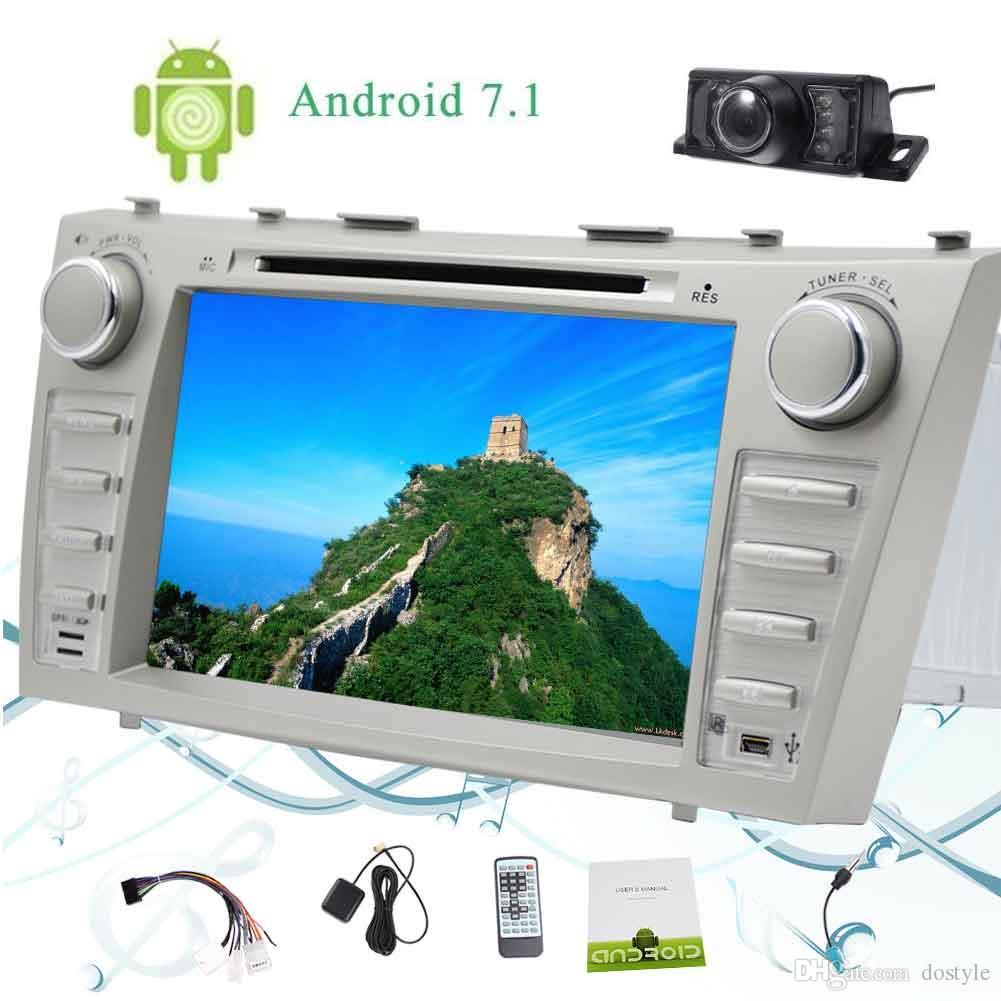 Eincar Camera + Android 7.1 2GB + 32GB Octa Core 8''Car Autoradio para TOYOTA CAMRY (2007-2012) 2 Din Car Radio Estéreo para coche Reproductor de DVD Bluetooth