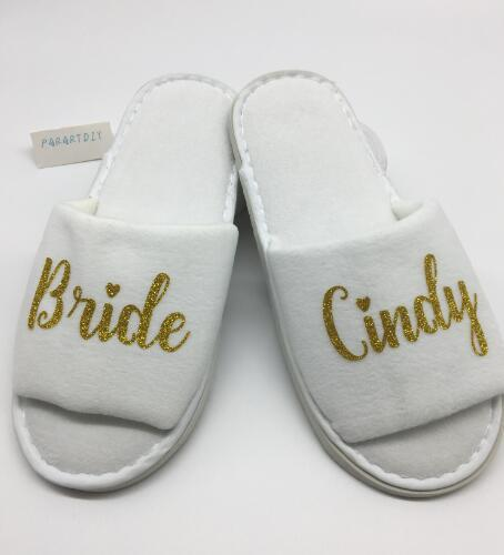 fashion styles outlet on sale shades of Personalized Wedding Slippers,Bridal Party Slippers.Bachelorette Party  Favors Gifts,Bridesmaid Maid Of Honor Flower Girl Slipper Bachelorette  Party ...