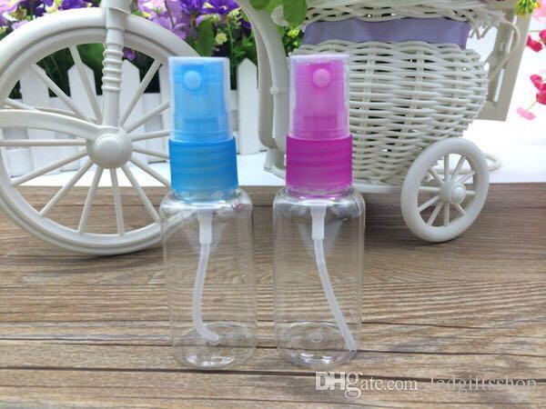 ücretsiz kargo Seyahat boyut 30ml havasız pompa şişe kozmetik plastik sprey şişeleri Temizle PET Doldurulabilir parfüm şişeleri