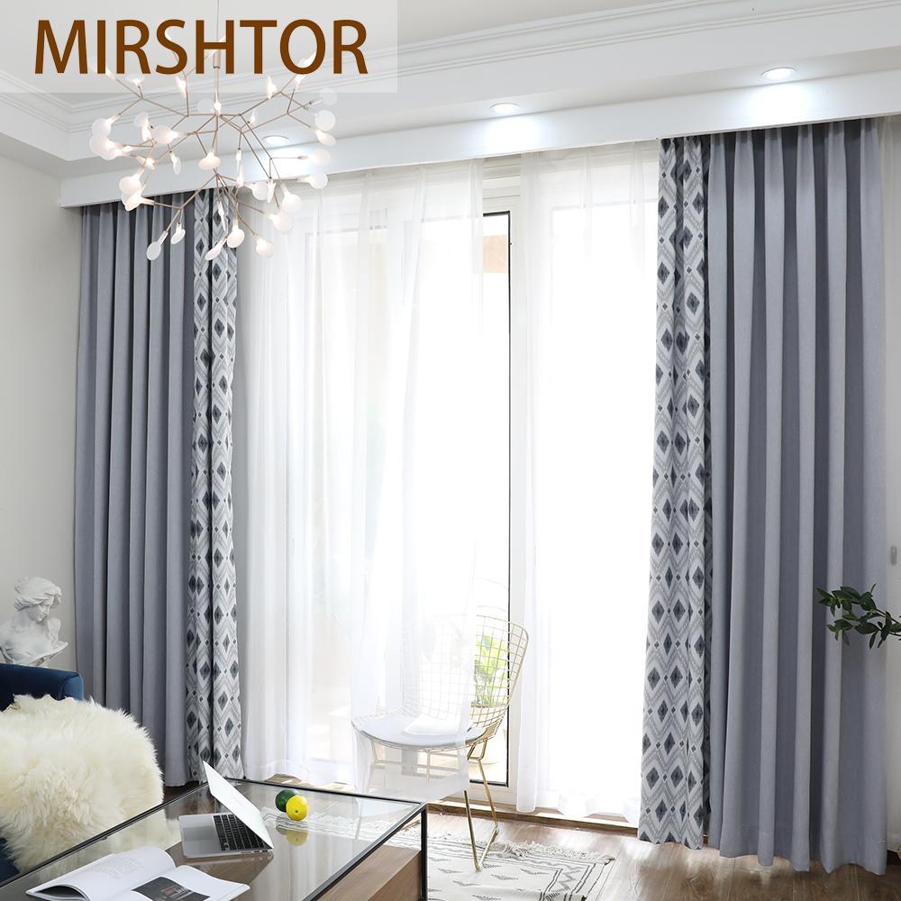 Photo De Rideau Pour Fenetre acheter mirshtor 85% rideau occultant pour fenêtre de salon ou de chambre  de couleur grise de 35,1 € du huweilan | dhgate