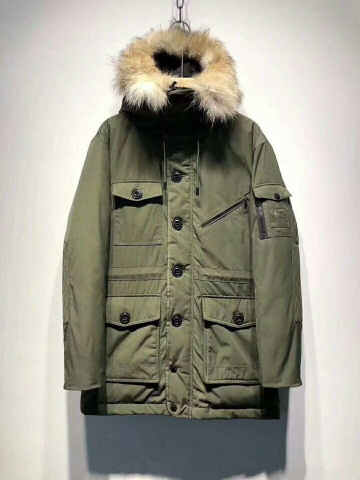 Wholesaleretailed топ новый одежда Мужская одежда верхняя одежда пальто мужчины вниз парки пальто смешанный заказ нет Minmum заказ дропшиппинг#0801