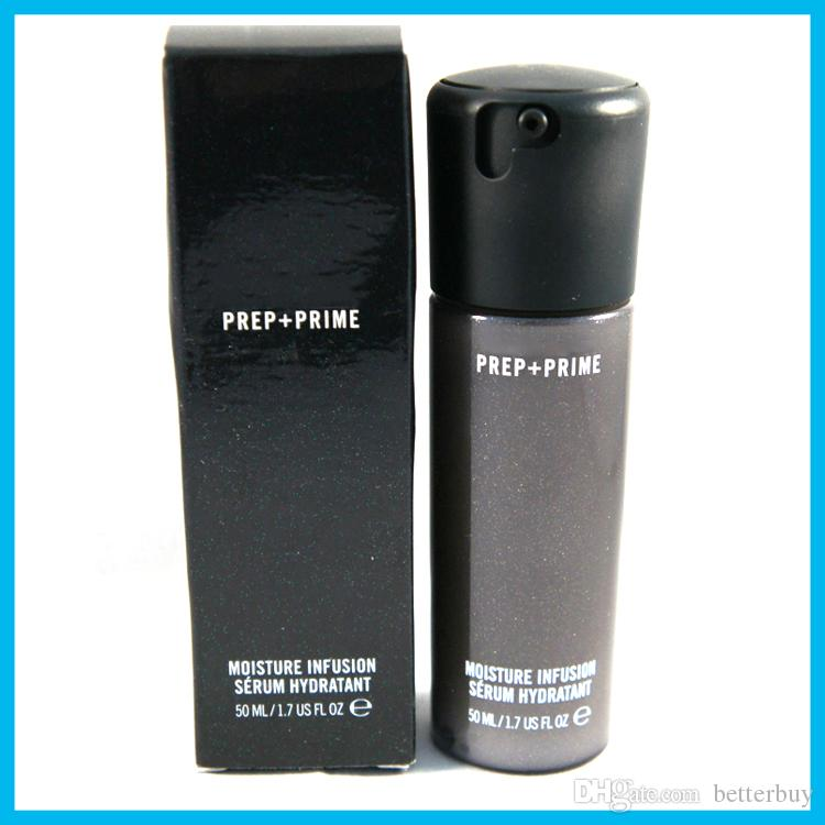 High quality! NEW Face Prep + Prime Moisture Infusion Serum Hydratant Primer 50ml Foundation DHL Free shipping