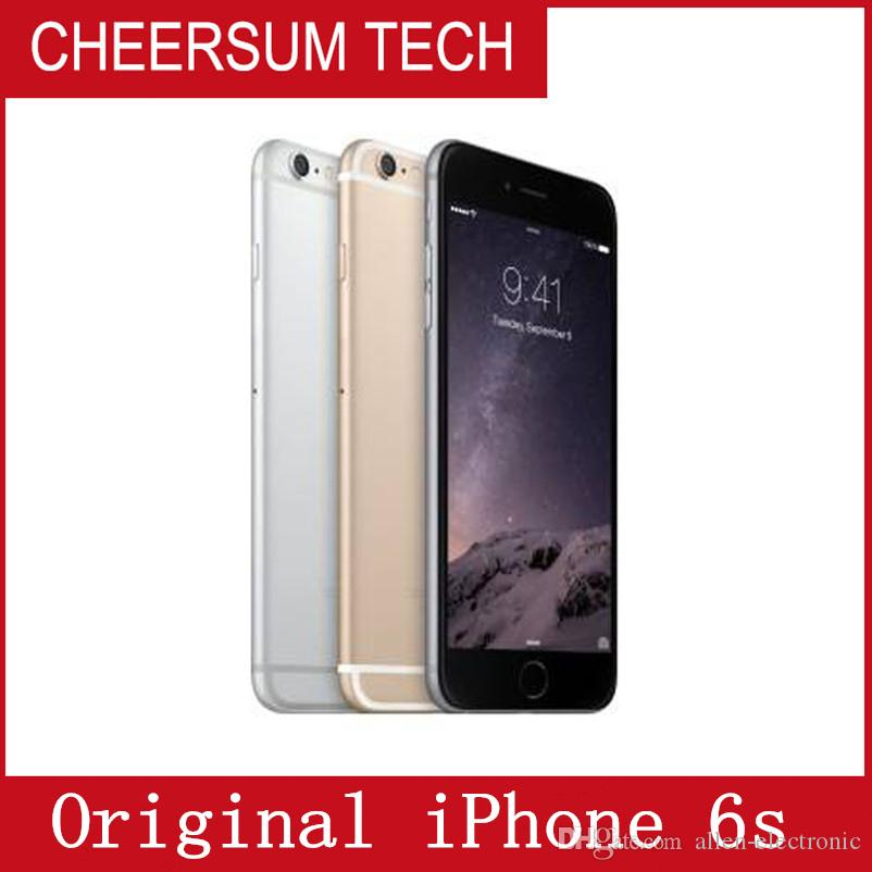 Refurbished Unlocked Iphone 6s Mobile phone 4G LTE 4.7 inches IOS 2GB RAM 16GB/64GB/128GB ROM Without touch ID iphone6s
