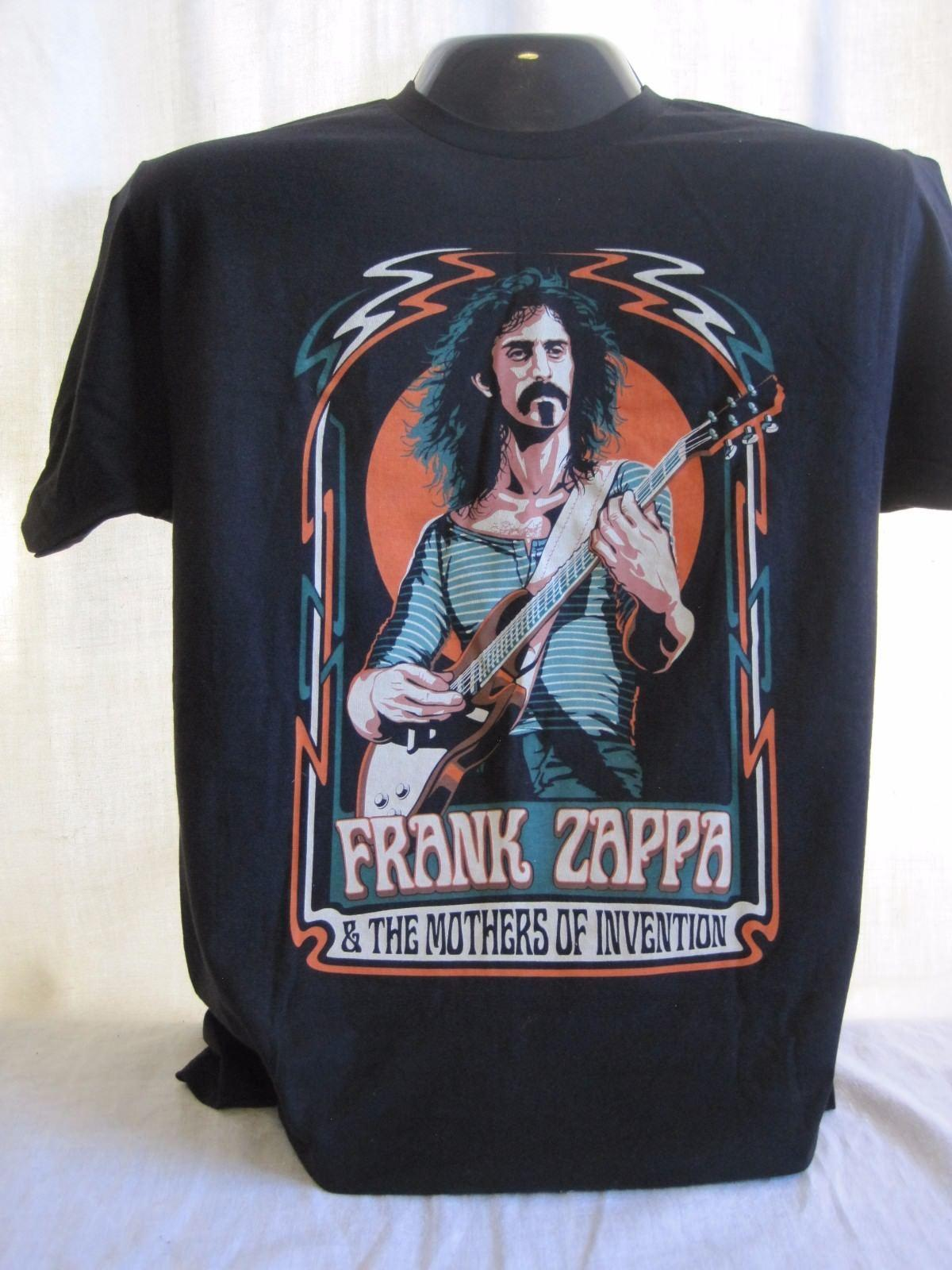 Frank Zappa & The Mothers of Invention T-Shirt Tee New Apparel Music Black 22 2018 Men T Shirt Fashion O-Neck T Shirt Men
