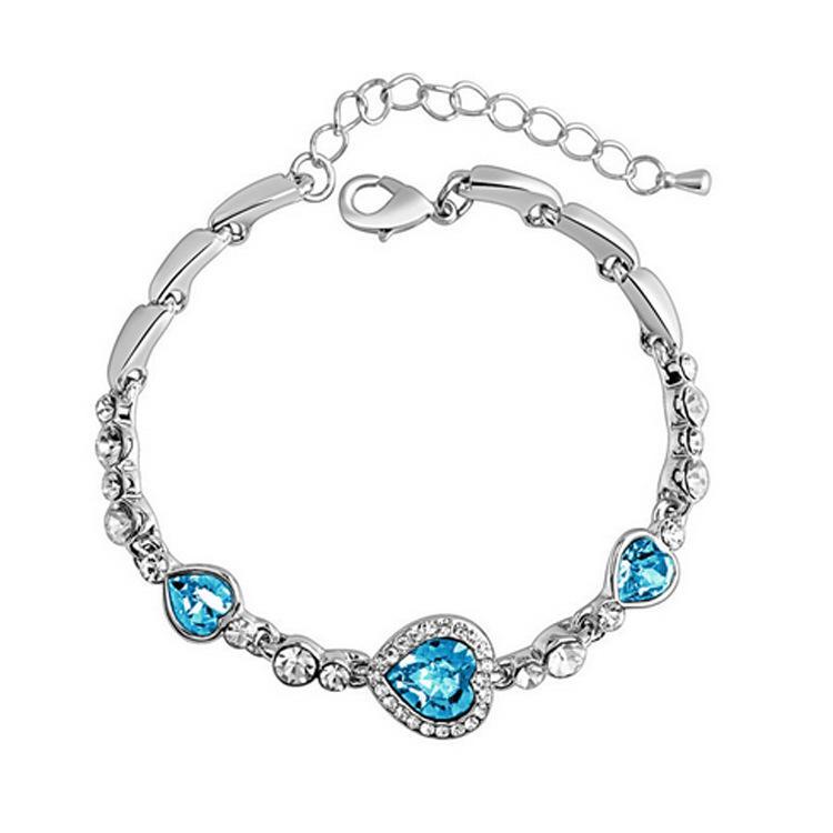 """Titanic"" Ocean Herz Armband Liebe Zirkon Kristall Diamant Armband Großhandel"