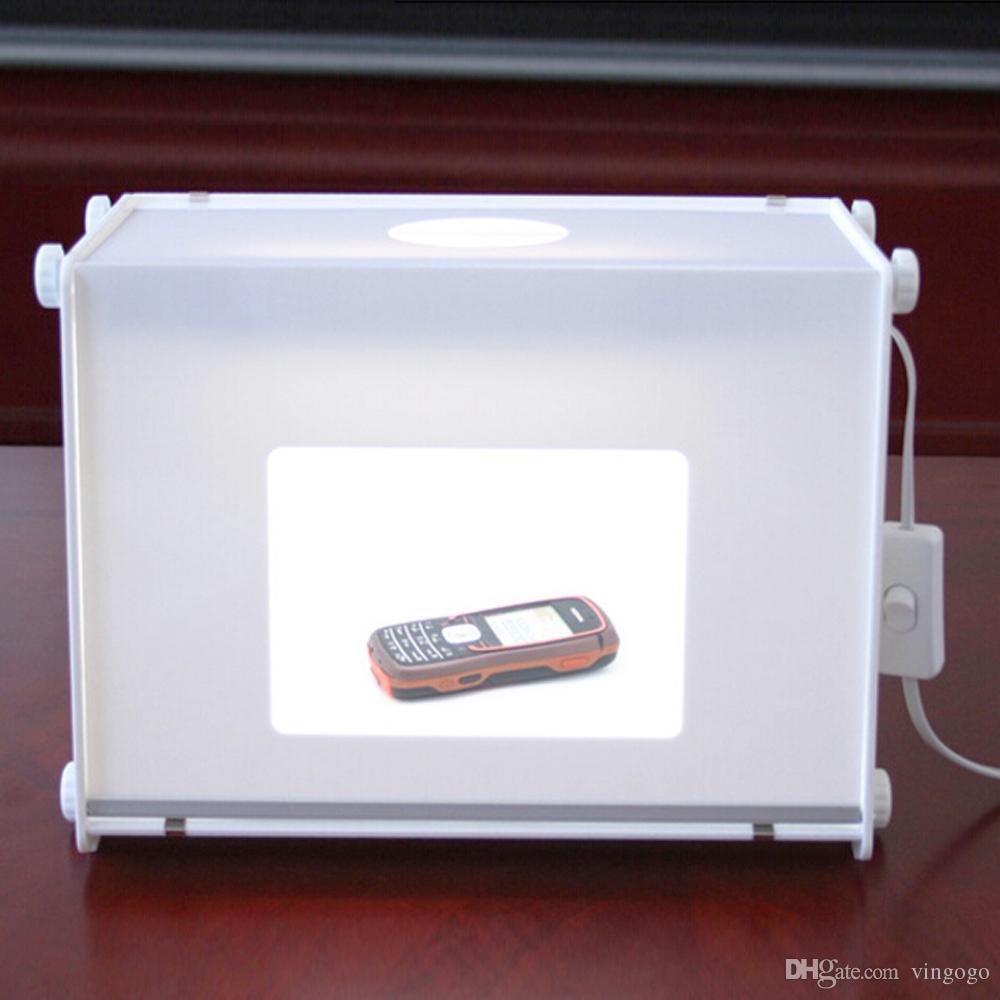 5500LUX 110V-250V 310 * 225 * 230mm SANOTO MK30 tragbaren Mini-LED-Licht-Boom Foto Fotografie Studio Light Box Softbox