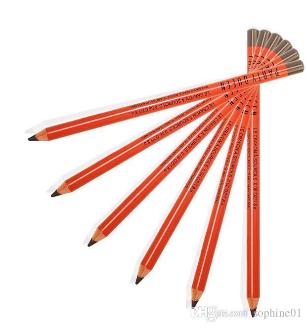 En gros 24 pcs / lot Party Crayons À Sourcils Étanche longue durée Professionnel Naturellement En Gros le prix le plus bas Livraison gratuite
