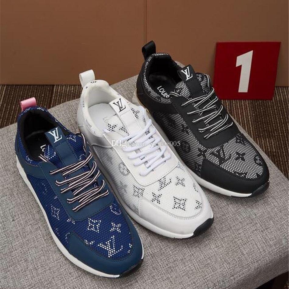 Novas letras bordados Preto azul branco Sapatos Para Homens Ao Ar Livre Confortável Sapatos Casuais Planas Tênis Mens Zapatos Sapatos de Caminhada