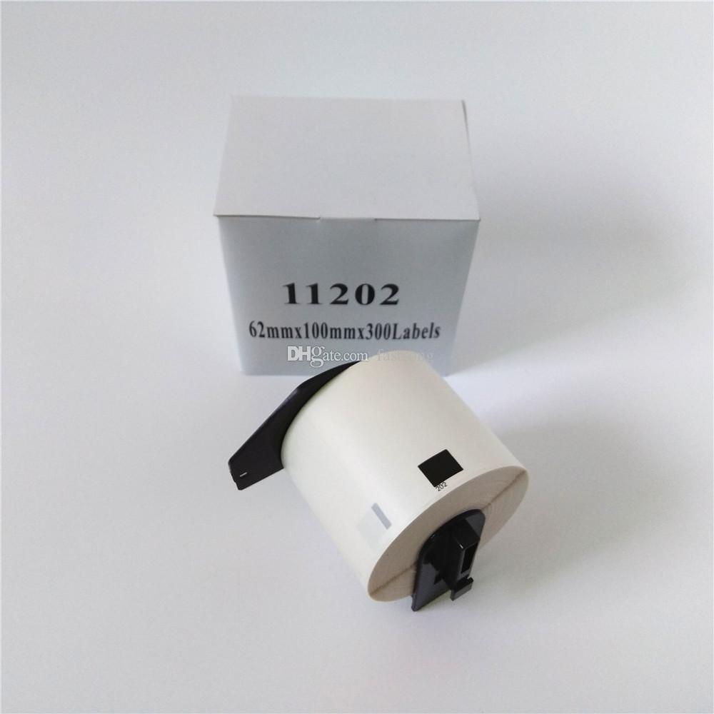 4 XロールブラザーDK 11202 DK-11202 DK 1202 DK-1202 DK11202 DK1202対応サーマルラベルQL 570 580 700 710 800 820 1050