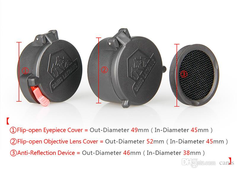 New Arrival Tactical Accessories Scope Cover With Kill Flash For Outdoor Sport Use Free Shipping CL33-0087