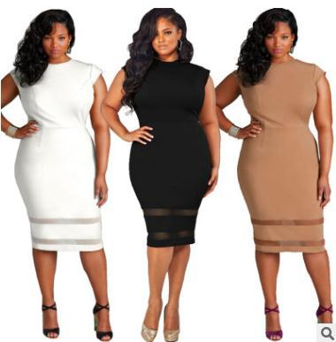 Hot Style Dresses Plus Large Size Sexy