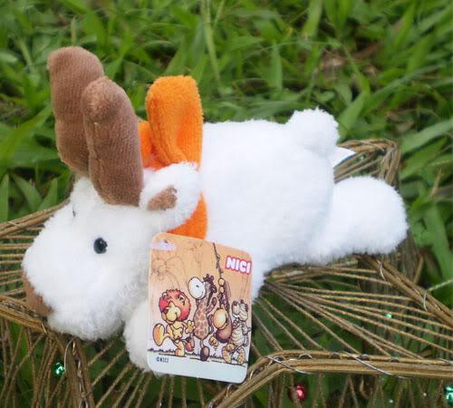 Orange scarf goat Fridge Magnet Plush toys Baby doll Refrigerator Stick Plush toys catton Stuffed animals CA028