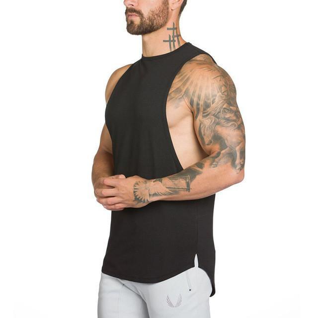 D Mężczyzna Koszulki Lato Bawełna Slim Fit Mężczyźni Tank Tops Odzież Bodybuilding Undershirt Golds Fitness Tops Tees