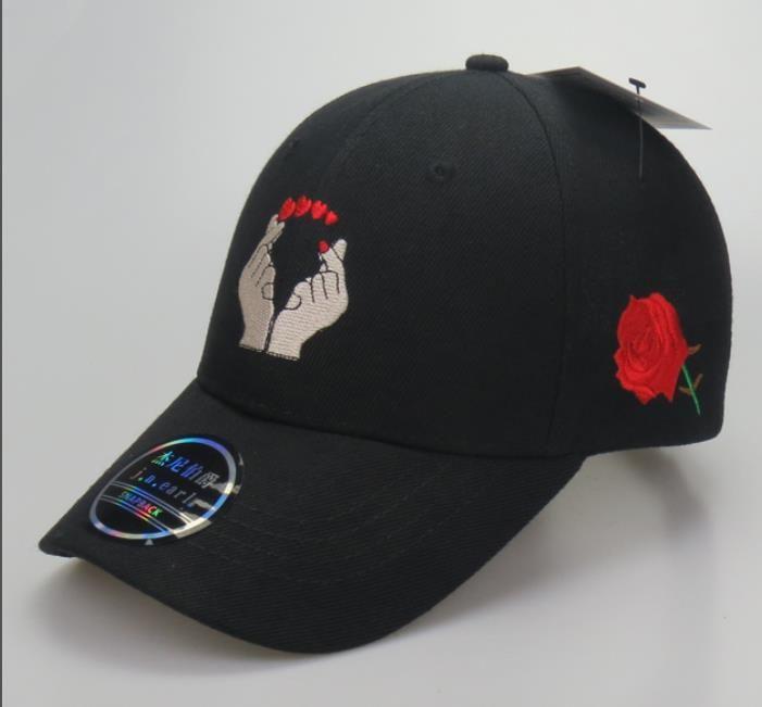 Rose Unisex Adult Hats Classic Baseball Caps Sports Hat Peaked Cap