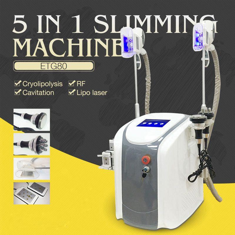 2020 newest Cryolipolysis Fat Freezing Machine Cryotherapy Slimming Cavitation RF Machine Fat Reduction Lipo Laser Machine DHL/CE