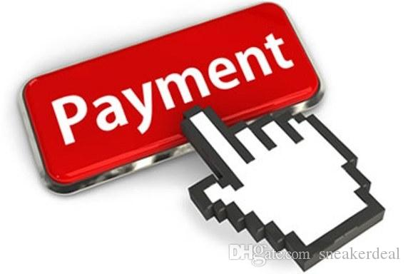 per il pagamento diverso, costo aggiuntivo, spese di spedizione, pagamento di prodotti diversi, regolare pagamento speciale ordine cliente veloce