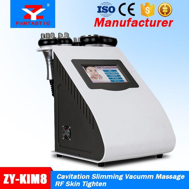 Venda quente de alta qualidade 5 em 1 40KHZ Ultrasonic lipoaspiração cavitação Slimming Machine RF pele aperto equipamentos de vácuo