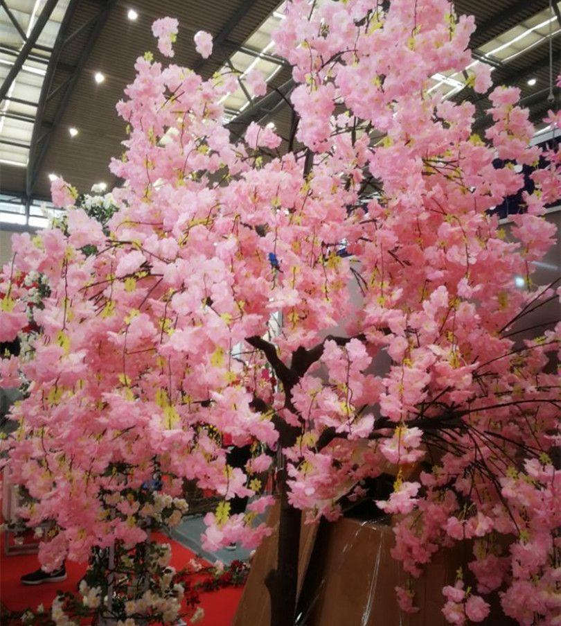 10 шт. Шелковая вишня цветок бегония вишневая куча фальшивая плеопетальная сакура для свадьбы дома искусственные декоративные цветы