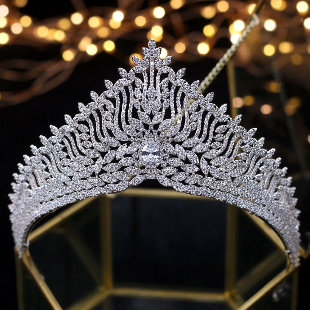tiara de boda Wedding Diademi Corone da sposa Accessori per capelli da sposa couronne de mariage