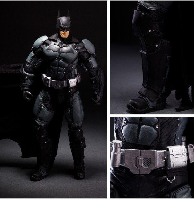 NECA Maßstab 1/4 18 Zoll Batman Arkham Asyl Batman Arkham City Actionfigur 50 cm