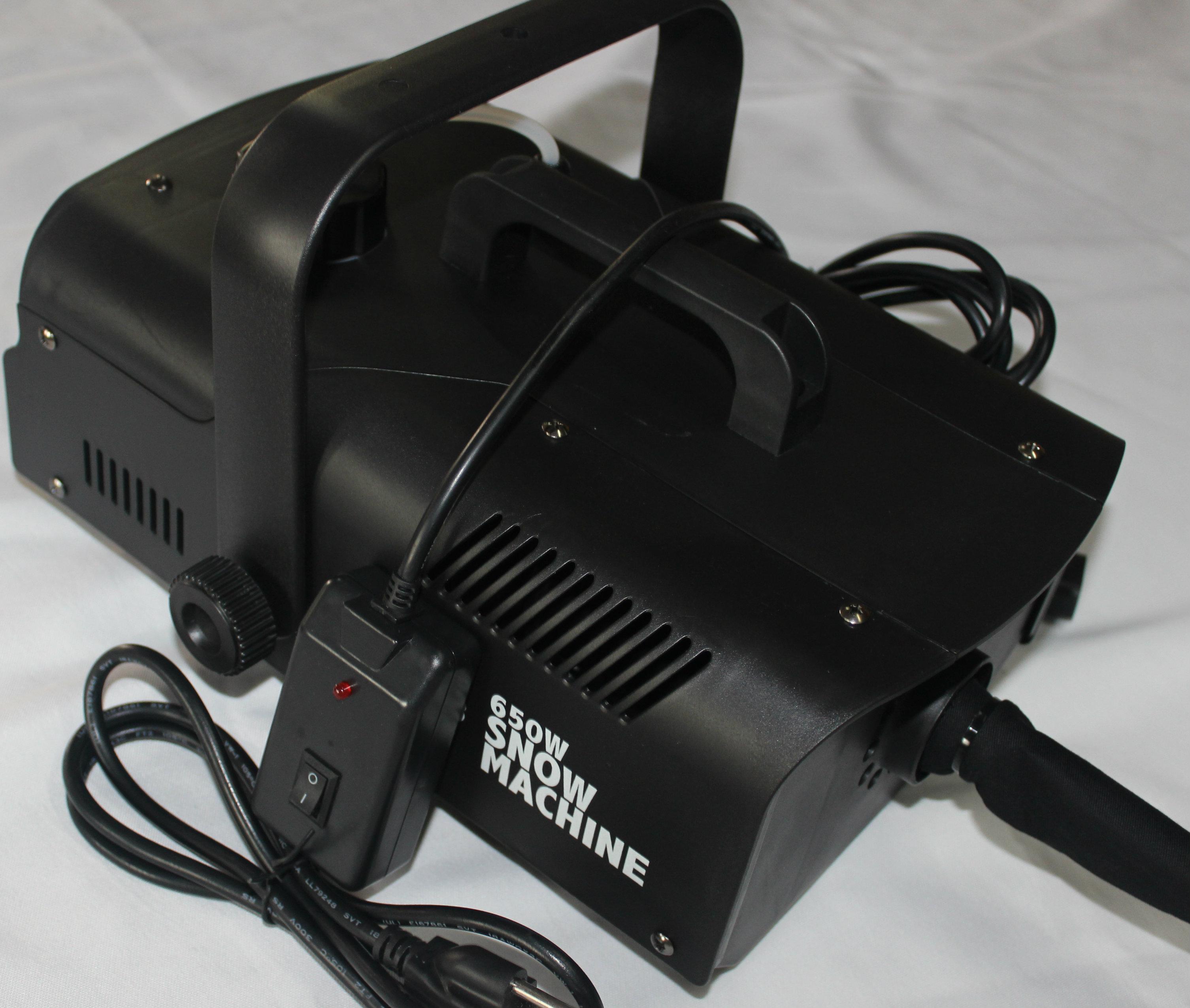 650 w Kablolu Uzaktan Kumanda Kar Gevreği Makinesi, Çocuklar için büyük Makine, Taraflar, Parades, Dj Disco House Parti Sahne Kamp Alanı için ...
