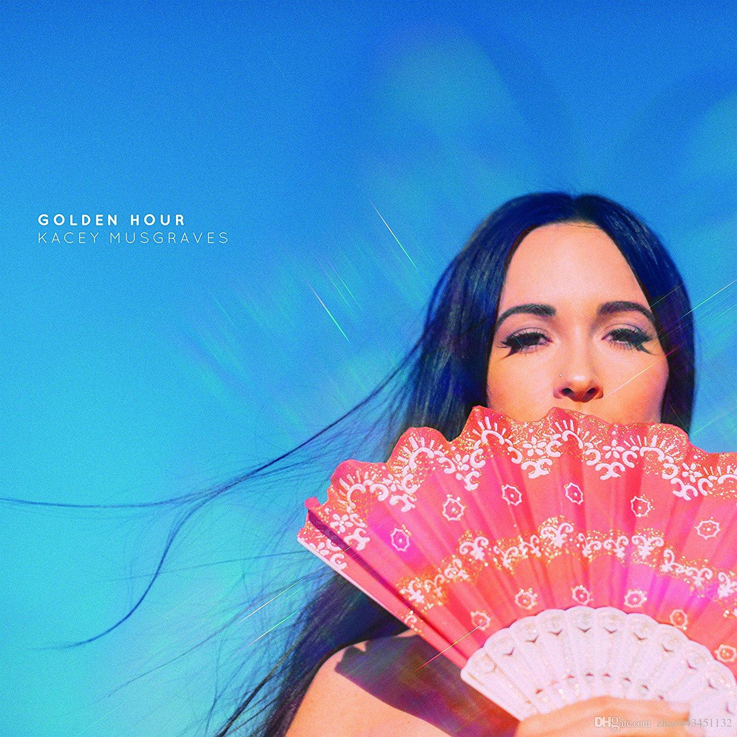 Golden Hour by Kacey Musgraves cover music poster