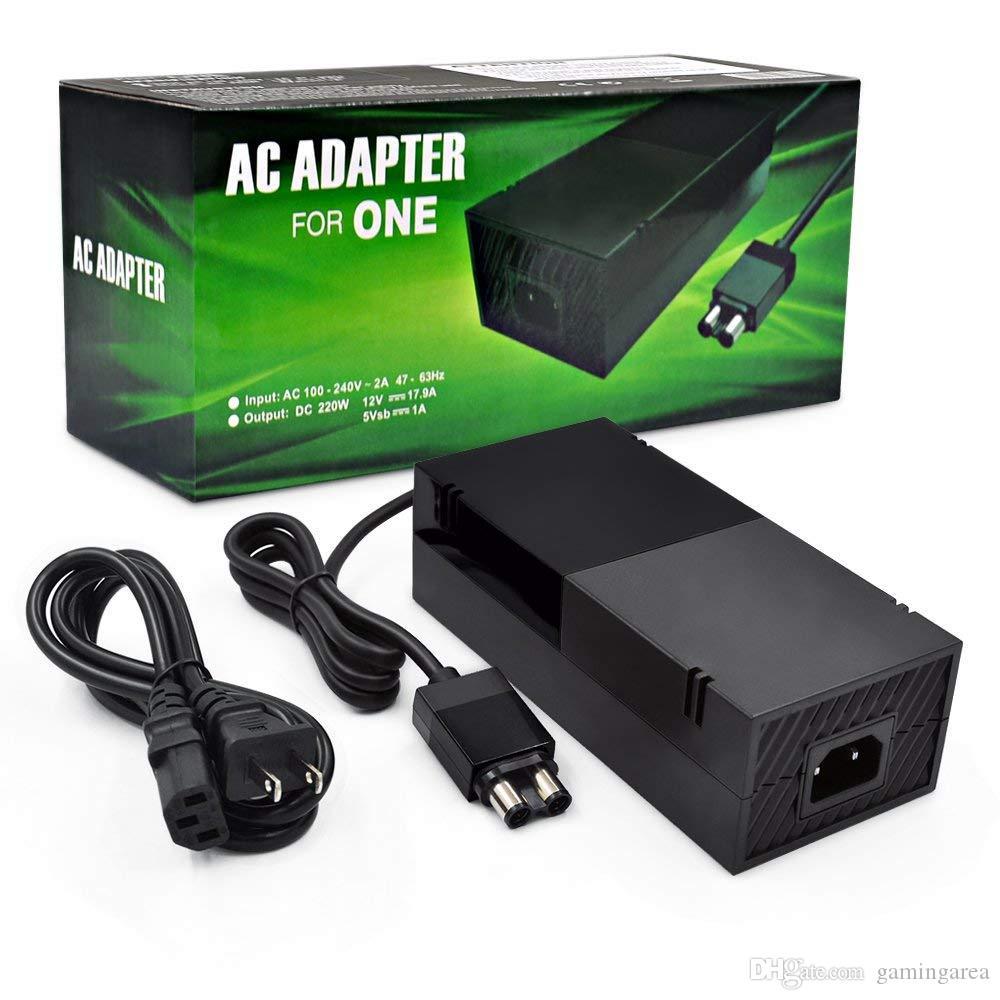 Power Brick [ÚLTIMA Avanzada Edición silenciosa] Adaptador de CA Fuente de alimentación con cable de cargador para Xbox One DHL FEDEX EMS ENVÍO GRATIS