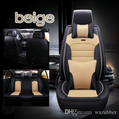 Uniwersalne akcesoria samochodowe Wewnętrzne pokrowce na siedzenia samochodowe Pełny zestaw do sedana All Clusive Design PU Leather Movatable Siedzenia Obejmuje