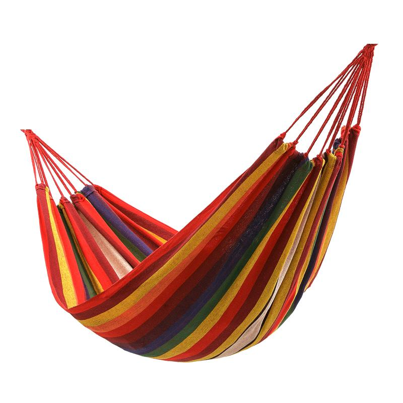 METIEM NEW double 200x150cm garden swings outdoor camping hammock indoor hanging chair bed portable rope for children