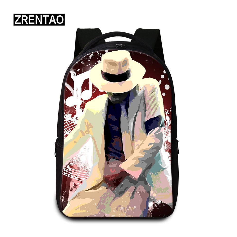 MJackson Canvas Backpack Women Men Large Capacity Laptop Backpack Student Kid School Bags for Teenagers Travel Backpacks Mochila