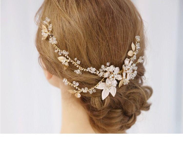 Large Hair Comb Wedding Bridal Prom Stunning With Rhinestones  New UK