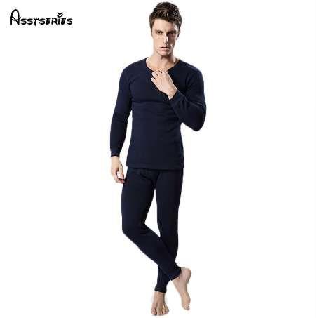 Darmowa Wysyłka Gorąca Sprzedaż Nowa Bielizna termiczna Kobiety Mężczyźni Zimowy Pogrubienie Ciepłe Długie Johns Top + Pant Seksowne Soft Bielizna 17HFX