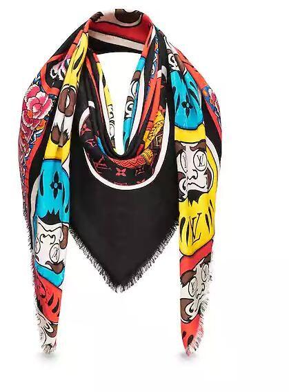 Scarf Pashmina shawls PETIT DAMIER GLOVES NM M70006 PETIT DAMIER HAT NM M70606 PETIT DAMIER SCARF NM M70517