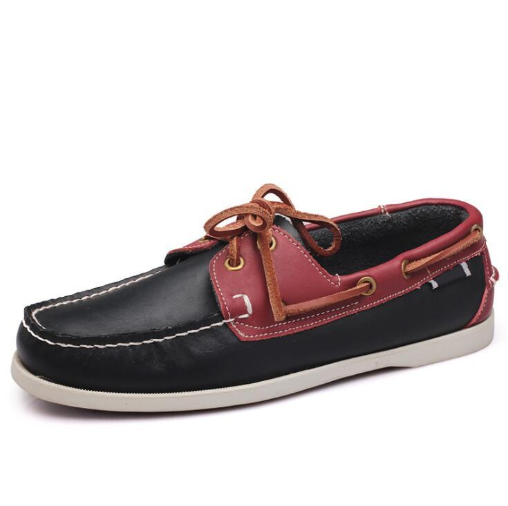 Neue Bootsschuhe Mann Lace Up Casual Mokassins Größe 45 sapato masculino Chaussure Homme Vintage Zapatillas Hombre Loafers