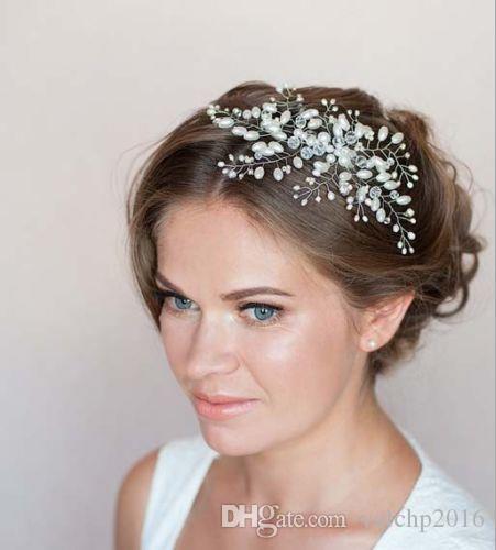 Accessorio per accessori da sposa accessori per spose a pettine perlati fatti a mano