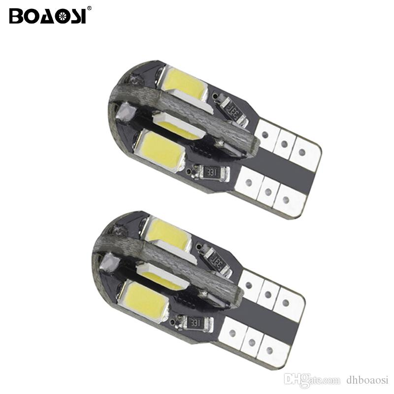 T10 8SMD 5730 Xénon LED Ampoules W5W 194 168 LED Blanc Voiture Side Wedge Queue Lampe