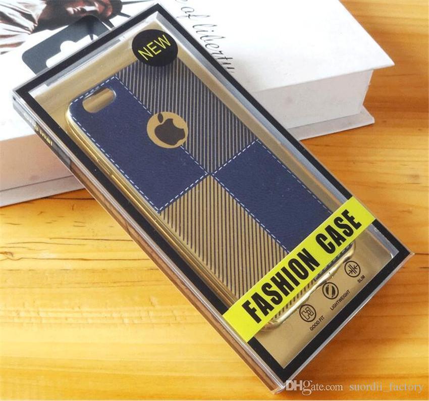 Özel Tasarım Paketi Çanta Telefon Kılıfı için iPhone samsung için Kişiselleştirilmiş Ambalaj Çanta evrensel PVC Plactic cep telefonu kılıfı