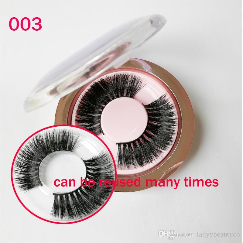 Hot sell Charming Real Mink Strip False Eyelash Long Individual Eyelashes Mink Lashes free shipping GR145
