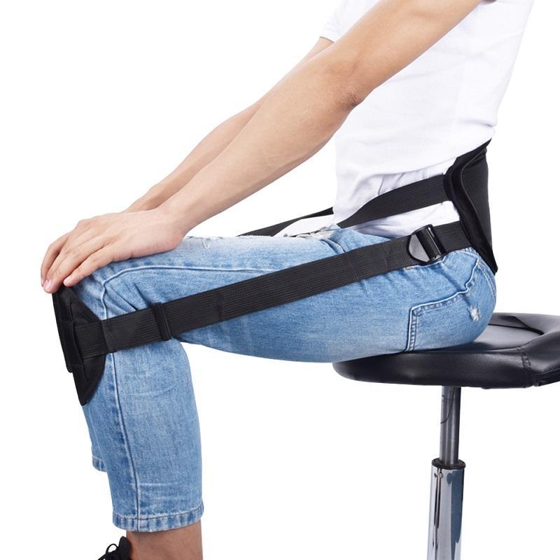 Adultos que se sientan Postura de corrección de la correa clavícula correa de soporte mejor sentado Spine Los apoyos Soporta Volver Corrector de Postura