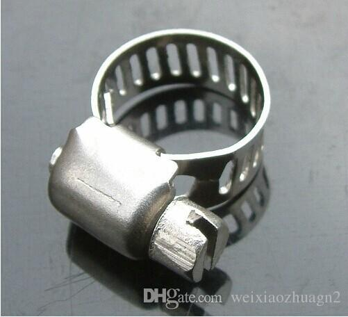 Wholesale Price, 5pcs/lot, Stainless Steel Hose Buckle / Water Pipe Clamps / Clips Compatible with 8-12mm Tube
