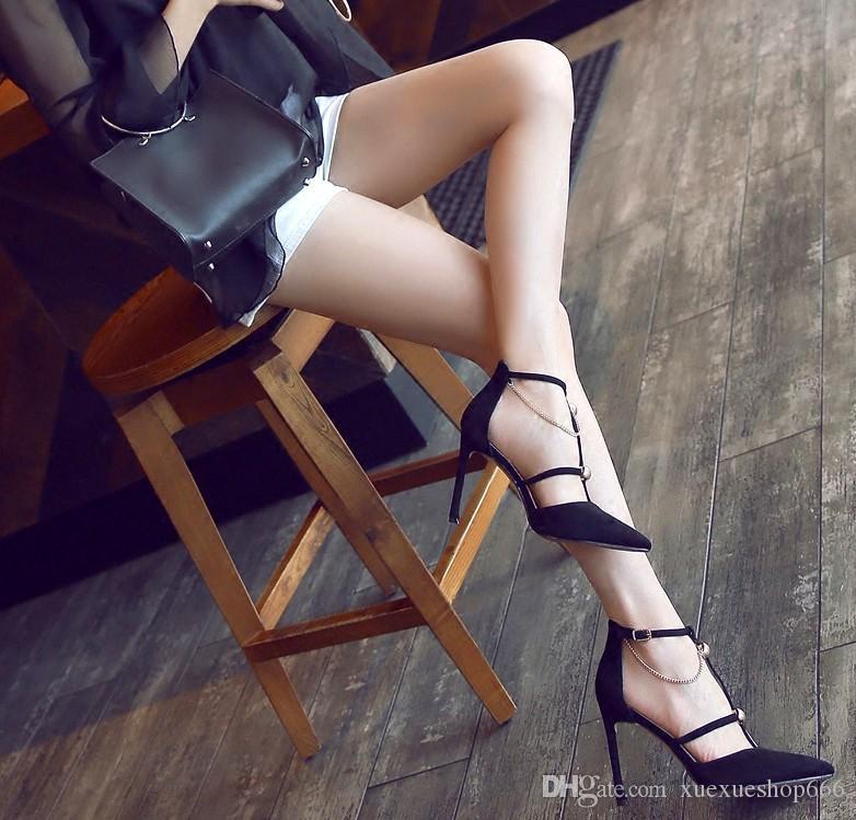 Sexy femme fait des talons hauts élégante en daim femme talons hauts chaussures simples évider femmes talons hauts femmes chaussures de mariage chaussures de banquet