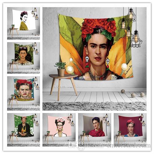 Maler Selbstporträt Tapisserie 10 entwirft Wandtapisserien Hauptdekor Tischdecke Bettlaken Sofabezug Badetuch Partei Hintergrund hängen