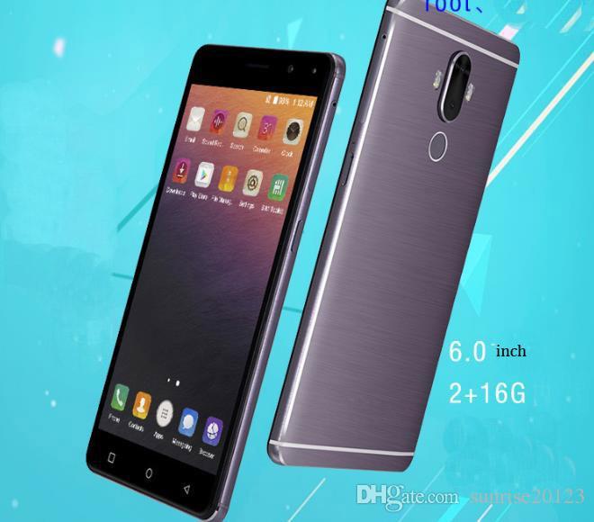 6.0 inch 4G foreign trade hot mobile phone, ultra-thin quad-core 4G smart phone, fingerprint unlock cross-border oem custom mobile phone