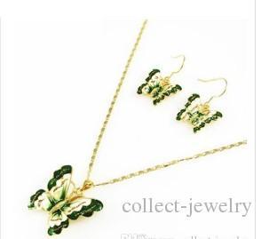 diamante cristal mariposa novia boda conjunto collar pendientes jrryr