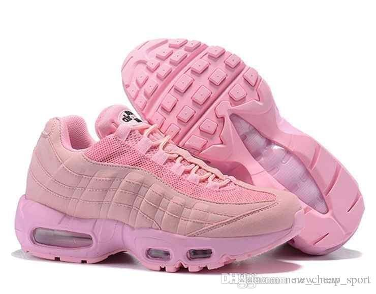 hot sale online a3860 c4f42 95 X Foot Locker 2018 Running Shoes For Women Piet Parra X Red Yellow Pink  Frequency Special Edition Corduroy 95 95s Sports Sneakers Men Shoes On Sale  Shoes ...
