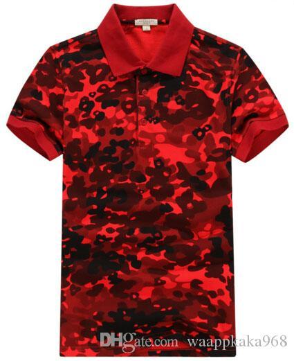 Brand Designer England Design Summer Mens Casual Polo Shirts Short Sleeve Fashion Men Casual Polo Shirt London Boys Cotton Polos Tops