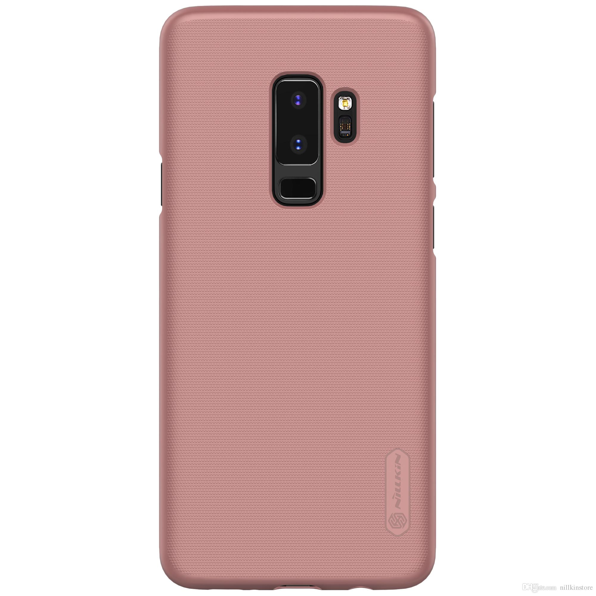 free shipping 1e7ac ca5ec Nillkin For Samsung Galaxy S9 Plus Case Cover 6.22inch Frosted Hard PC Back  Cover For Samsung S9 Plus Case With Screen Protector Leather Phone Cases ...