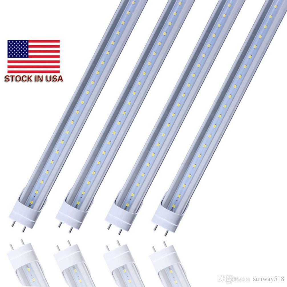 CE ROHS UL CUL + 2 pé 600 milímetros T8 levou tubo luzes de alta potência 12W 1100lm SMD2835 Led Lâmpada fluorescente Aqueça Natural branco fresco AC110-277V