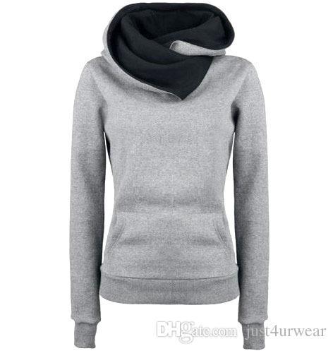 Femmes Pull À Capuche Sweats Slim Casual Patchwork À Manches Longues Hoodies Femmes Épaissir Hiver Tops Pull Femme Hoodies S-3XL