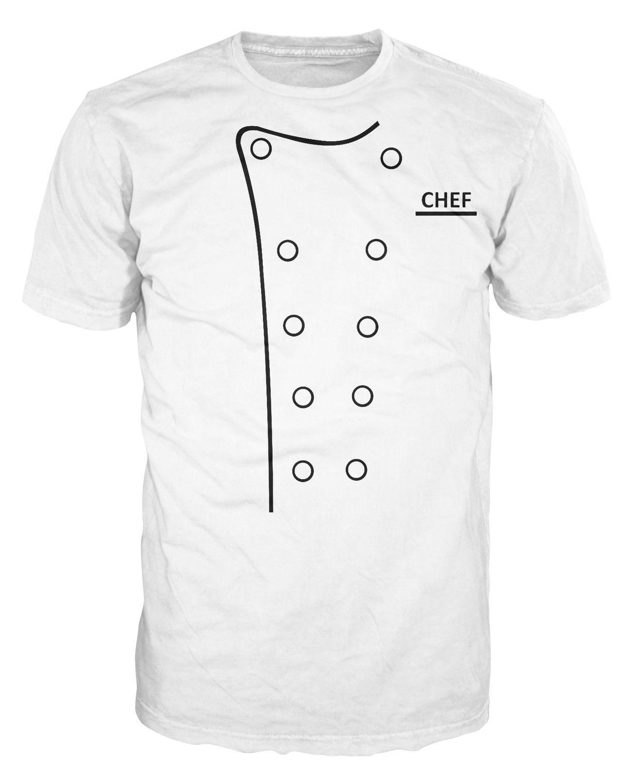 Kitchen Decor Boys and Girls All Over Print T-Shirt,Crew Neck T-Shirt,Chef Hat a